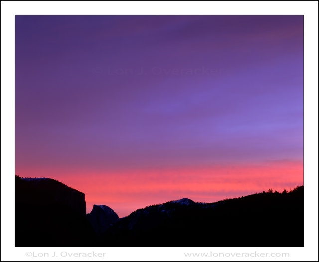 Dawn Over Yosemite