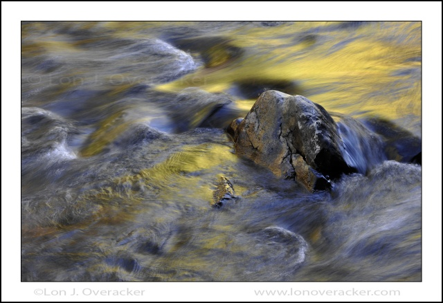 Gold, Rush Creek, June Lake Loop, Eastern Sierra